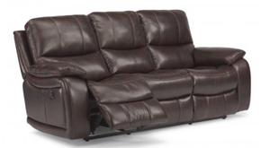 Flexsteel Reclining Woodstock Sofa